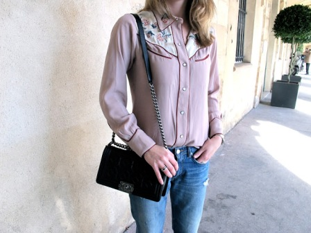 pink-western-shirt-street style