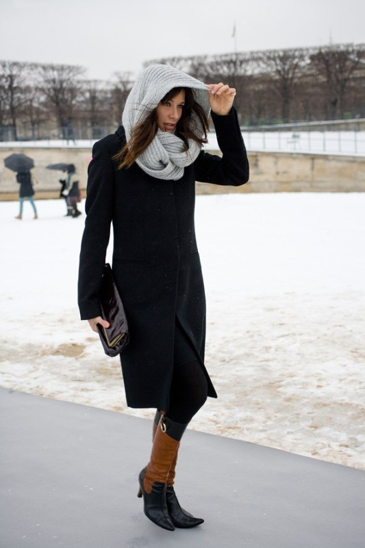 Francis Eve, comedian and actress  %22I'm wearing a Joseph coat with Dolce & Gabbana boots.%22