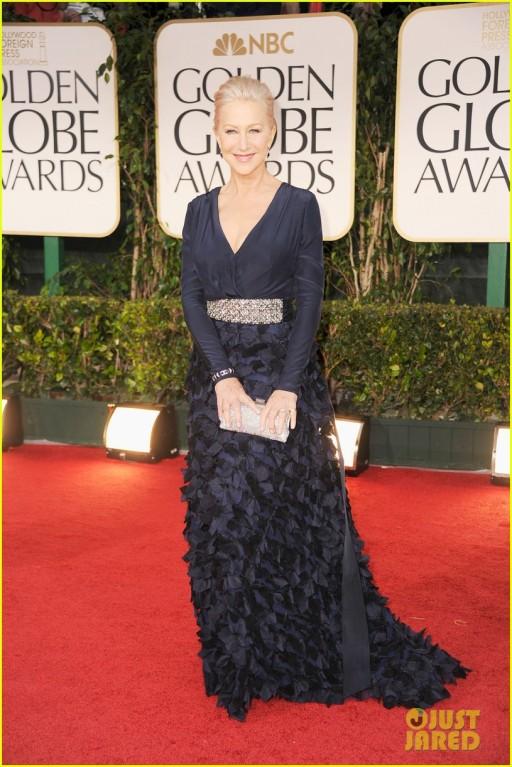 Golden Globes 2012 vestida, novamente, por Bagdley Mischka