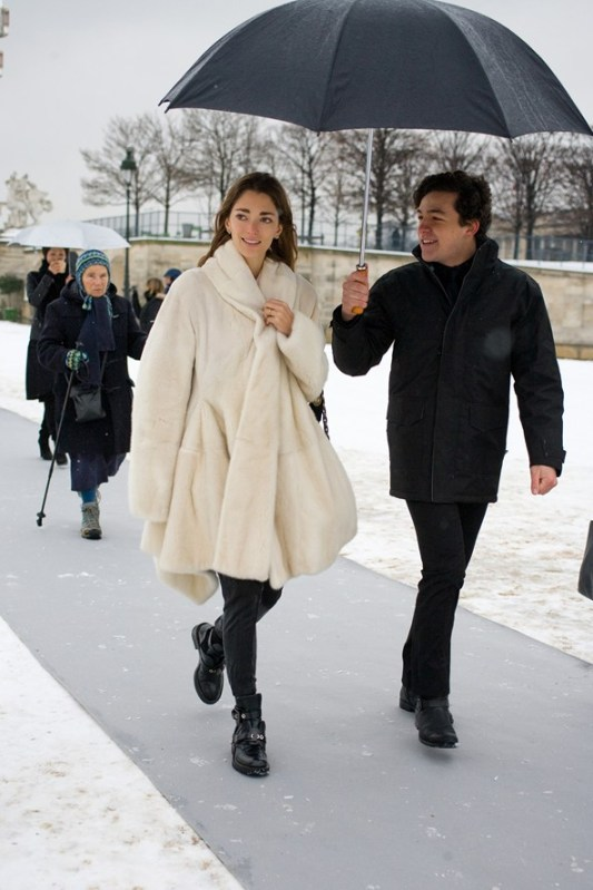 Sophia-ophia Sanchez, creative director  %22My coat is by Lanvin and the shoes are by Balenciaga.