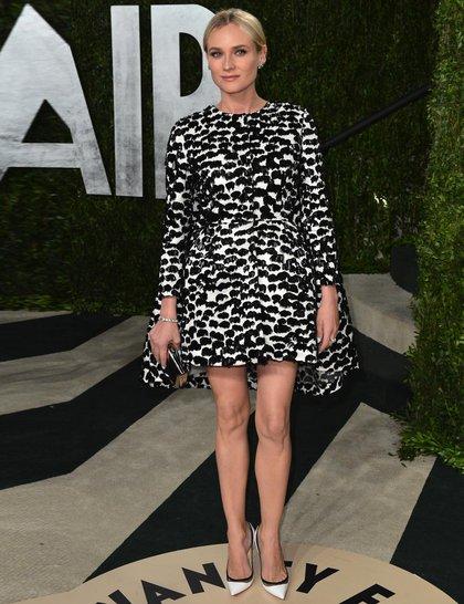 Diane Kruger em Giambattista Valli