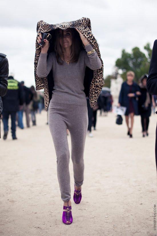 la-modella-mafia-Black-Lips-and-Chanel-Cashmere-sweats-inpired-by-Carine-Roitfeld