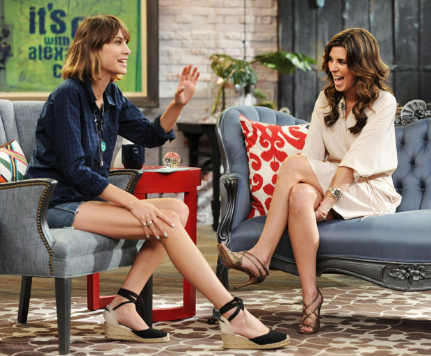 "MTV's ""It's On with Alexa Chung"" presents P. Diddy and Jamie-Lynn Sigler"