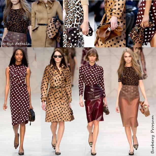 hearts no the runway burberry prorsum