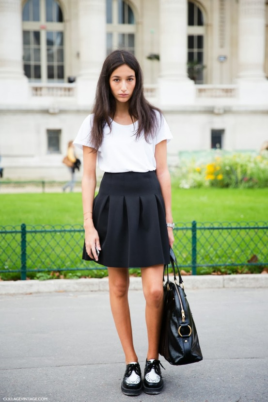 Paris_Fashion_Week-PFW-Street_Style-Collage_Vintage-Black_And_White-Creppers-