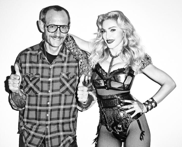 Madonna e o fotógrafo Thierry Richardson