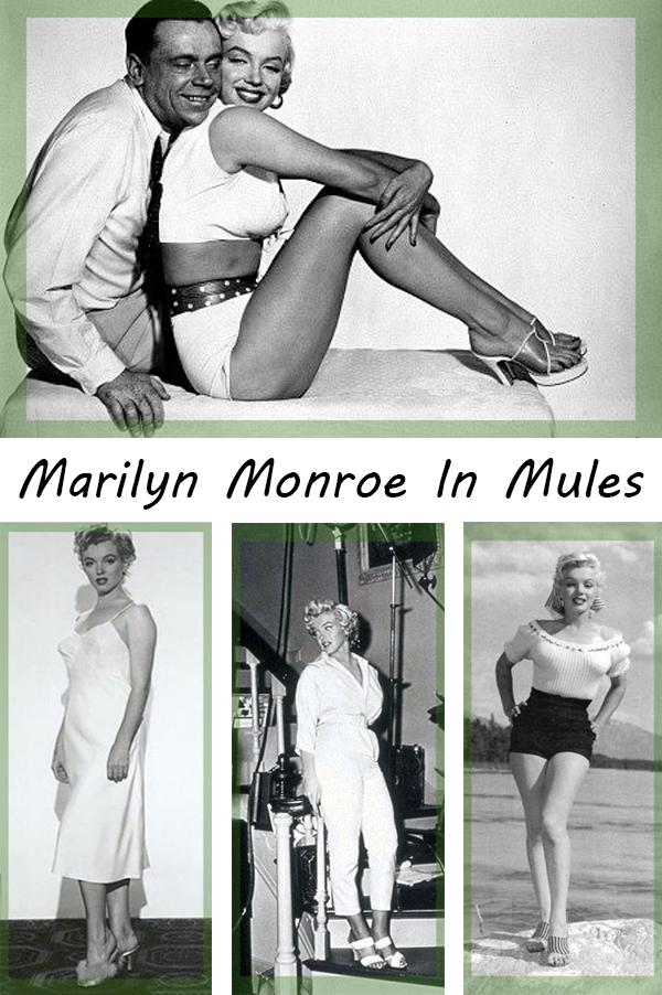 Marilyn-Monroe-In-Mules