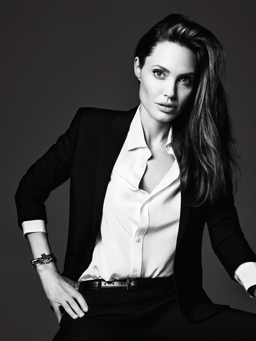 Le-Fashion-Blog-Angelina-Jolie-Elle-Magazine-June-2014-By-Hedi-Slimane-Button-Down