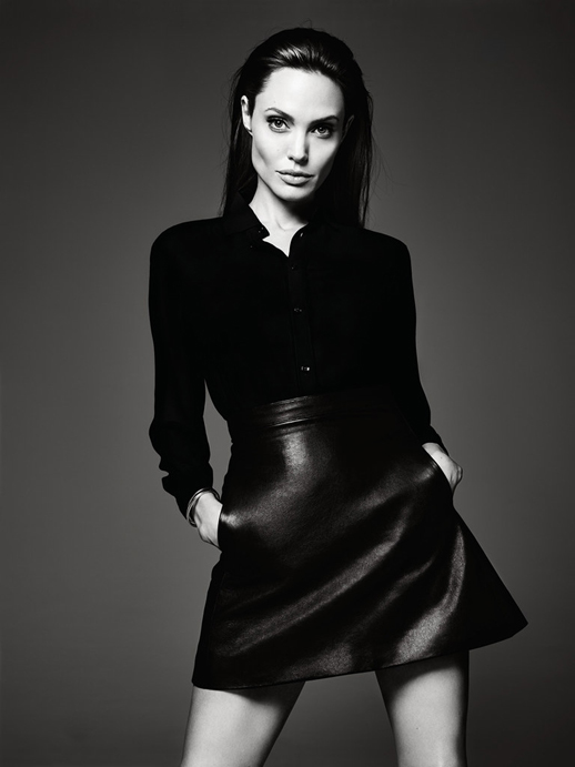 Le-Fashion-Blog-Angelina-Jolie-Elle-Magazine-June-2014-By-Hedi-Slimane-Leather-Skirt