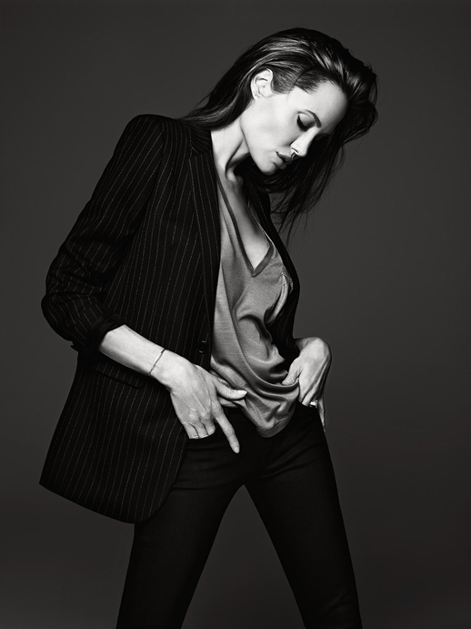 Le-Fashion-Blog-Angelina-Jolie-Elle-Magazine-June-2014-By-Hedi-Slimane-Pinstripe-Jacket
