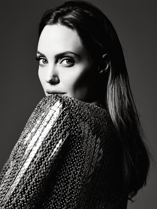 Le-Fashion-Blog-Angelina-Jolie-Elle-Magazine-June-2014-By-Hedi-Slimane-Sequin-Jacket