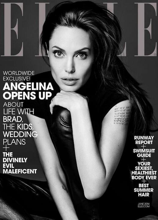 Le-Fashion-Blog-Angelina-Jolie-Elle-Magazine-June-2014-Cover-Saint-Laurent-By-Hedi-Slimane