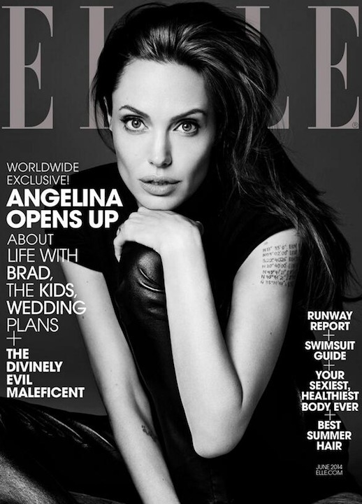 Le-Fashion-Blog-Angelina-Jolie-Elle-Magazine-June-2014-Cover-Saint-Laurent-By-Hedi-Slimane
